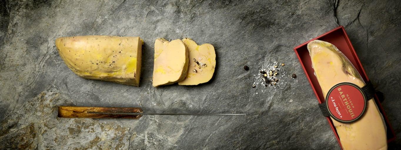 Foie gras de canard entier mi-cuit | produit artisanal | Maison Barthouil